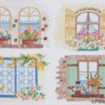 2009年戸塚刺しゅうカレンダー  「幸せの窓辺」公開しました。